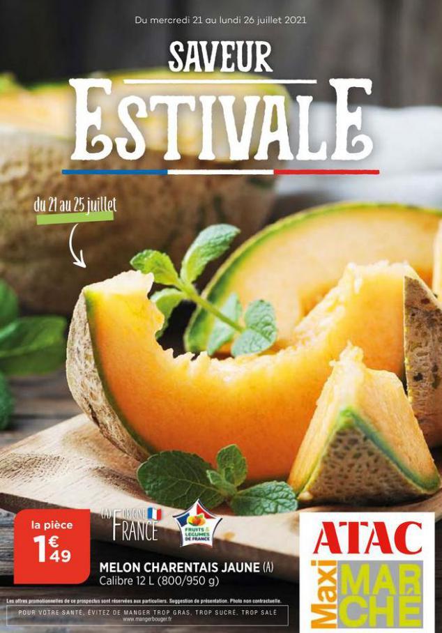 Catalogue Maximarché. Maximarché (2021-07-25-2021-07-25)