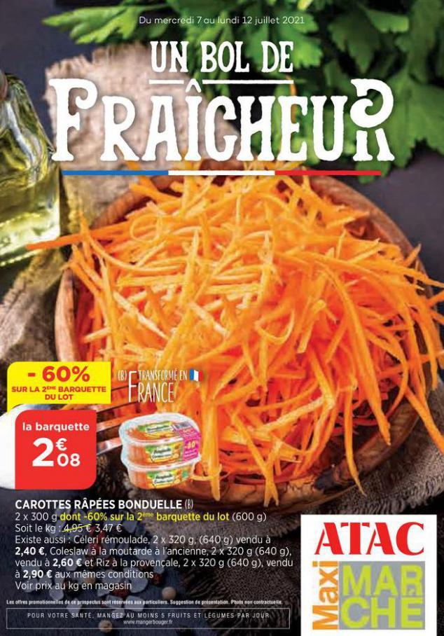 Catalogue Maximarché. Maximarché (2021-07-11-2021-07-11)