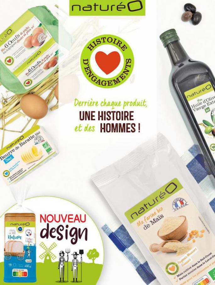 Les produits à la marque naturéO. NaturéO (2021-07-31-2021-07-31)