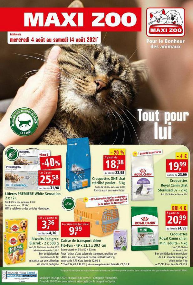Pour Le Bonheur des animaux. Maxi Zoo (2021-08-14-2021-08-14)