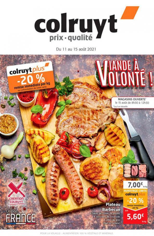 Viande a volonté !. Colruyt (2021-08-15-2021-08-15)