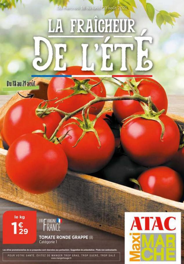 Catalogue Maximarché. Maximarché (2021-08-22-2021-08-22)