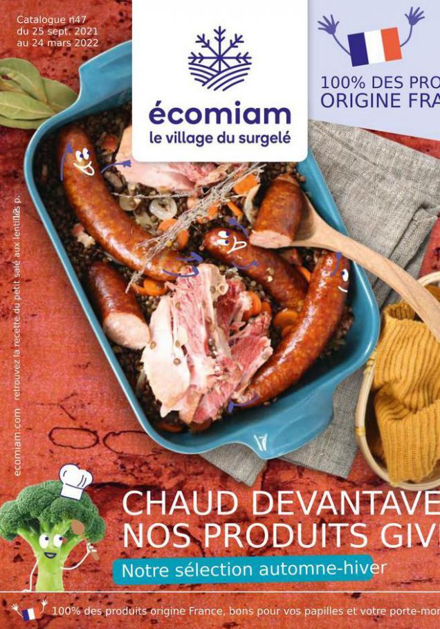 Catalogue Saisonnier. Ecomiam (2021-12-31-2021-12-31)