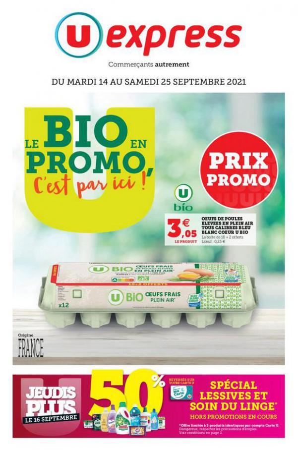 DES PRIX QUI TOMBENT VRAIMENT BIEN !. U Express (2021-09-25-2021-09-25)
