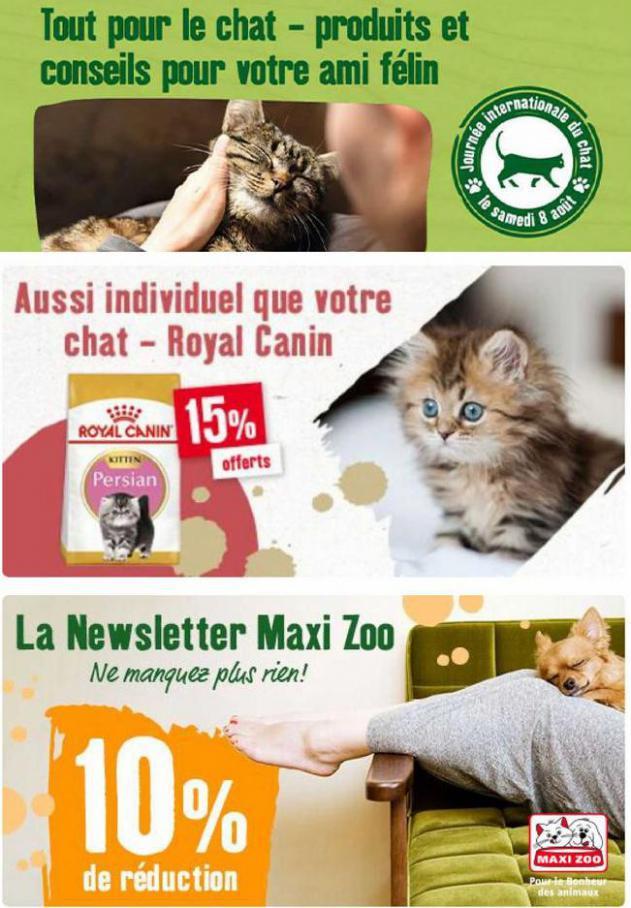 Catalogue Maxi Zoo. Maxi Zoo (2021-09-30-2021-09-30)
