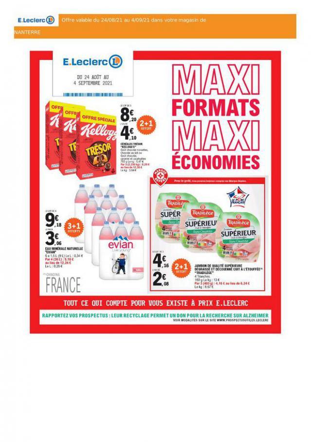 Maxi Format - Maxi Économies. E.Leclerc Drive (2021-09-04-2021-09-04)