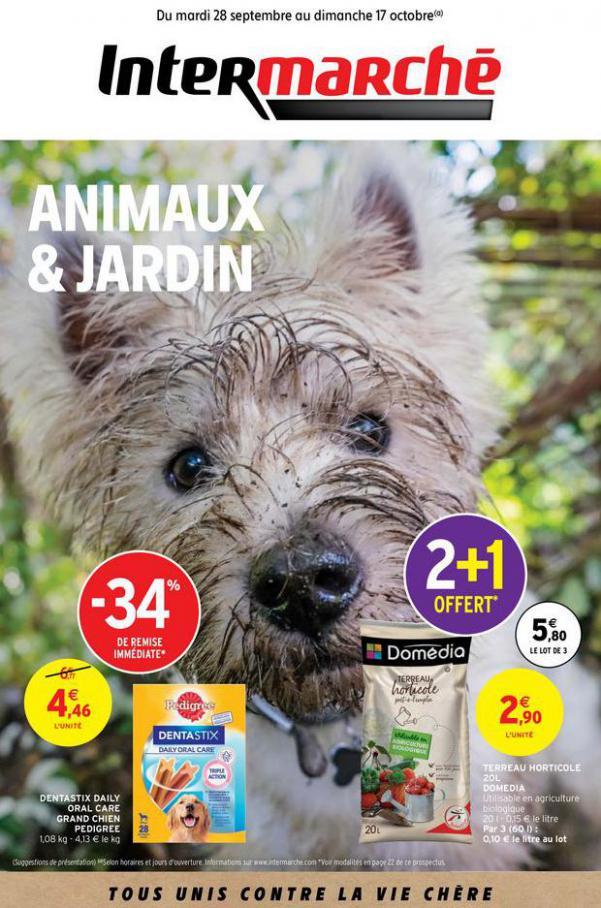 EVEN ANIMALERIE JARDIN SEPTEMBRE. Intermarché Express (2021-10-17-2021-10-17)