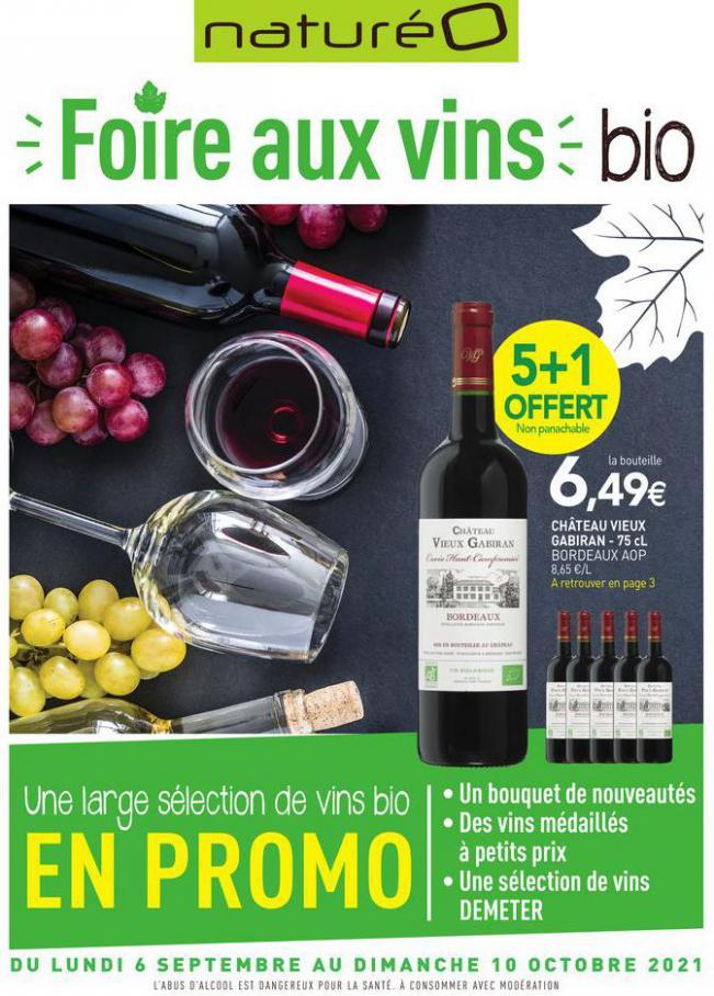 Foire aux vins bio. NaturéO (2021-10-10-2021-10-10)