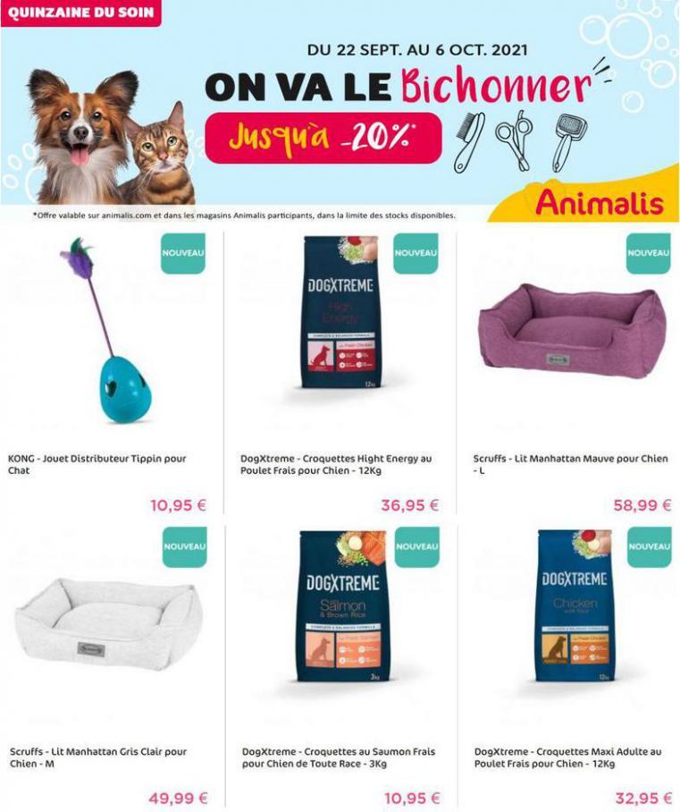 Nouveautés. Animalis (2021-10-06-2021-10-06)