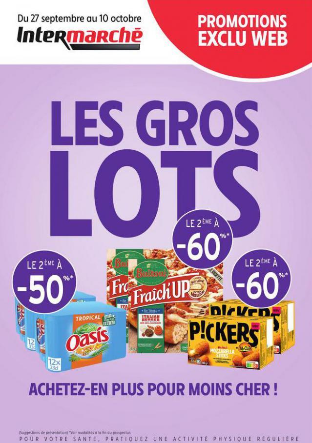 PROS 2 DRIVE GROS VOLUME V1. Intermarché Express (2021-10-10-2021-10-10)
