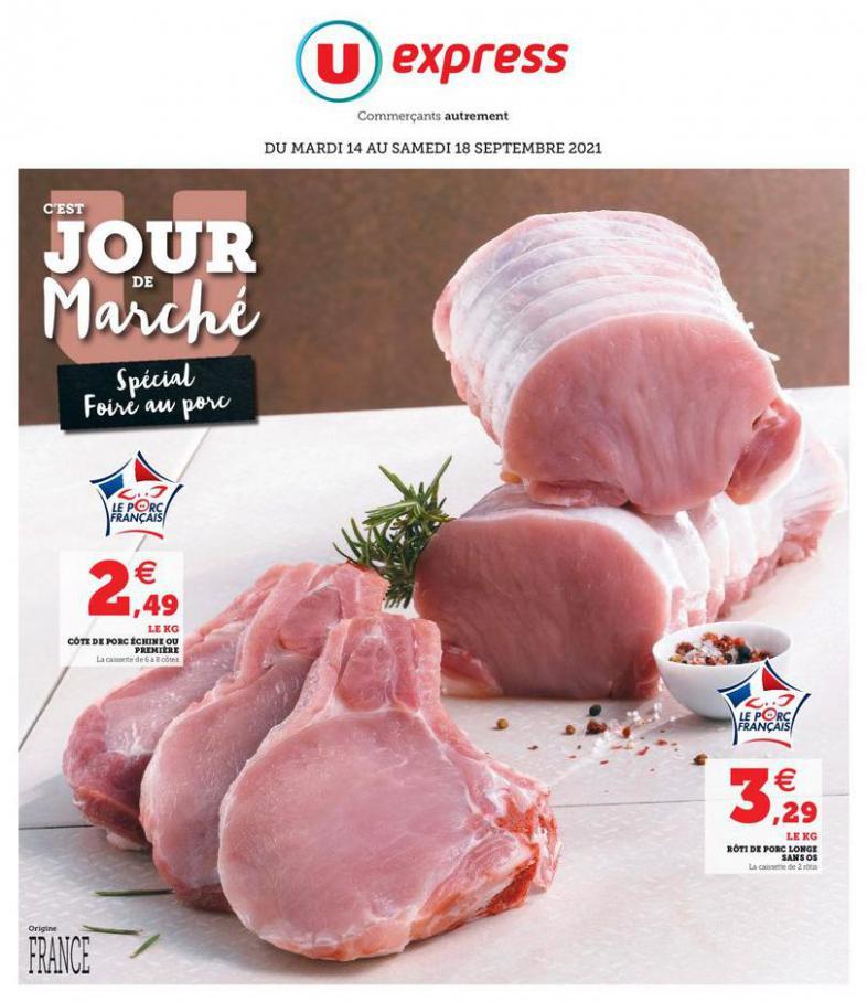 Catalogue U Express. U Express (2021-09-18-2021-09-18)