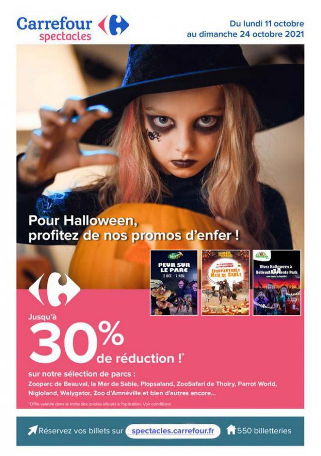 Promo pour Halloween. Carrefour (2021-10-24-2021-10-24)