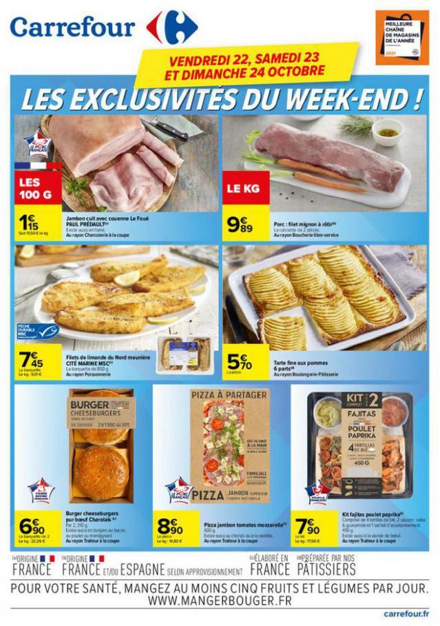 Les exclusivités du Week-end !. Carrefour (2021-10-24-2021-10-24)