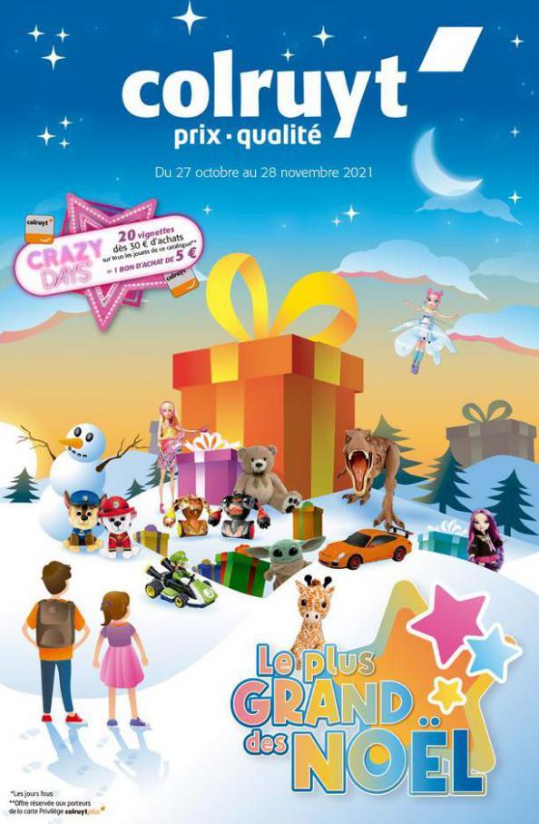 Le plus grand des Noël. Colruyt (2021-11-28-2021-11-28)