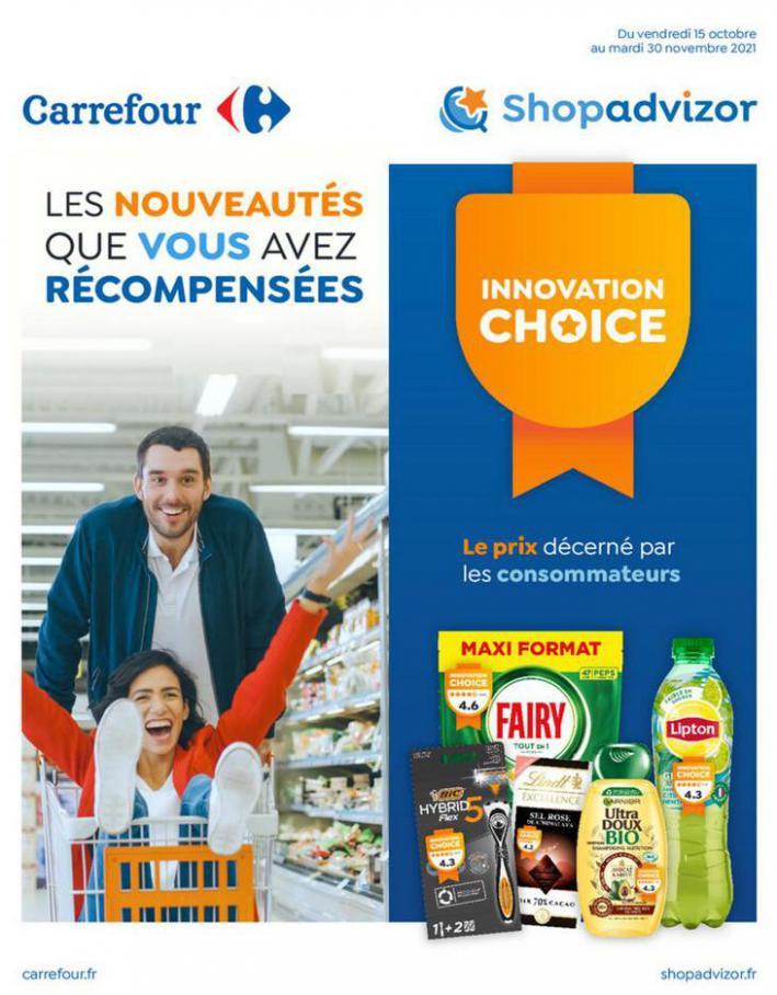 Catalogue Carrefour. Carrefour (2021-11-30-2021-11-30)