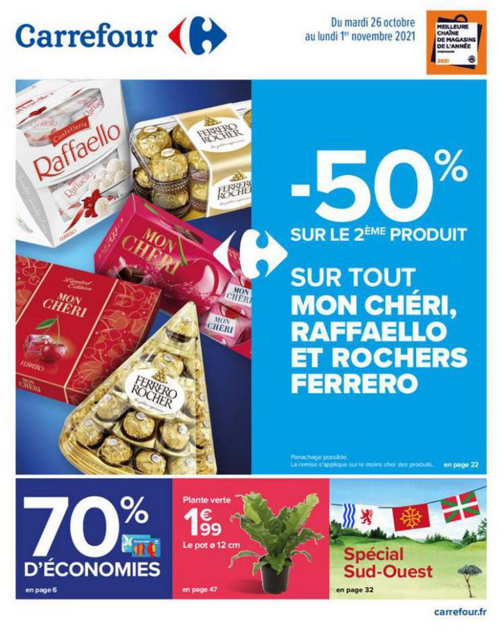 Catalogue Carrefour. Carrefour (2021-11-01-2021-11-01)