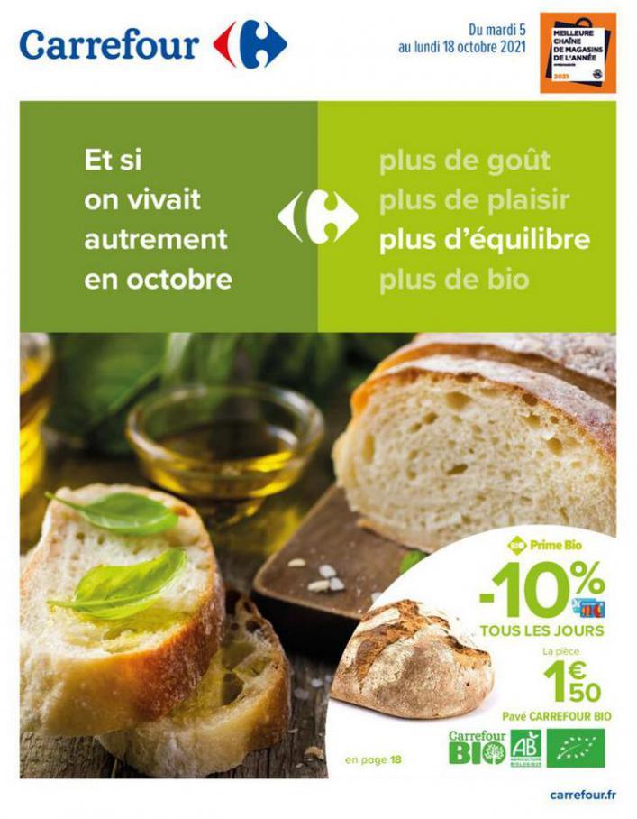 Et si on vivait autrement en Octobre. Carrefour (2021-10-18-2021-10-18)