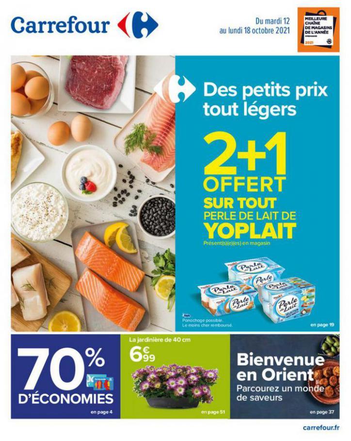 Des petits prix tout légers !. Carrefour (2021-10-18-2021-10-18)