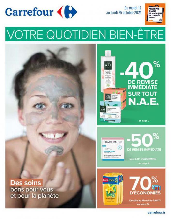Votre quotidien bien être. Carrefour (2021-10-25-2021-10-25)
