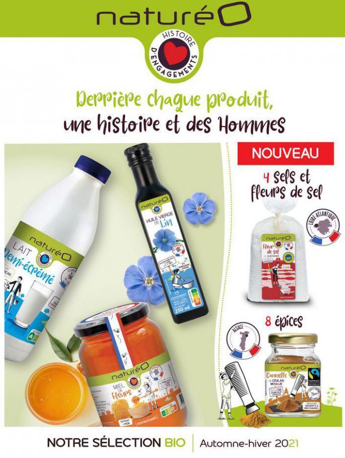 Les produits à la marque naturéO. NaturéO (2021-11-30-2021-11-30)