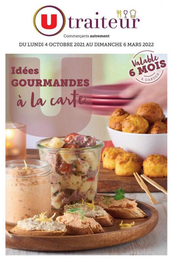 IDÉES GOURMANDES À LA CARTE. U Express (2021-10-08-2021-10-08)