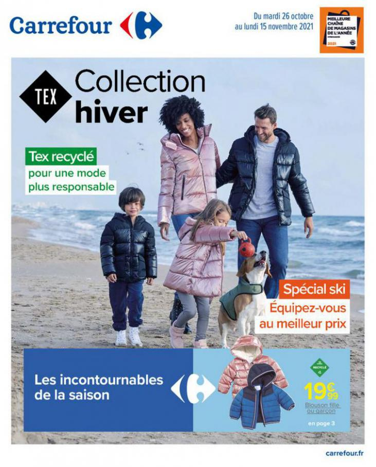 Tex Collection Hiver. Carrefour (2021-11-15-2021-11-15)