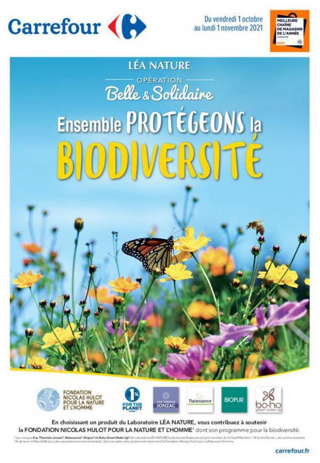 Ensemble Protégeons la Biodiversité. Carrefour (2021-11-01-2021-11-01)